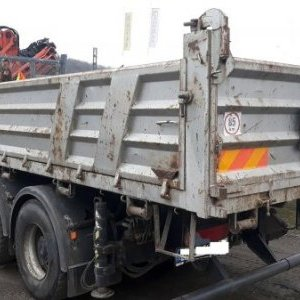 foto 6x4 tipper 33t MAN +Atlas 20m/4t winch